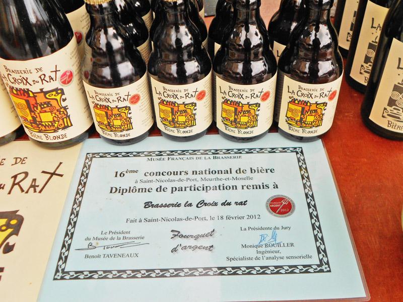 Fourquet argent 2012 bière blonde